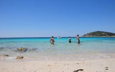 Beach near Trogir, Croatia