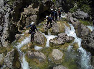 Cetina Canyoning
