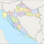 Croatia Counties Map
