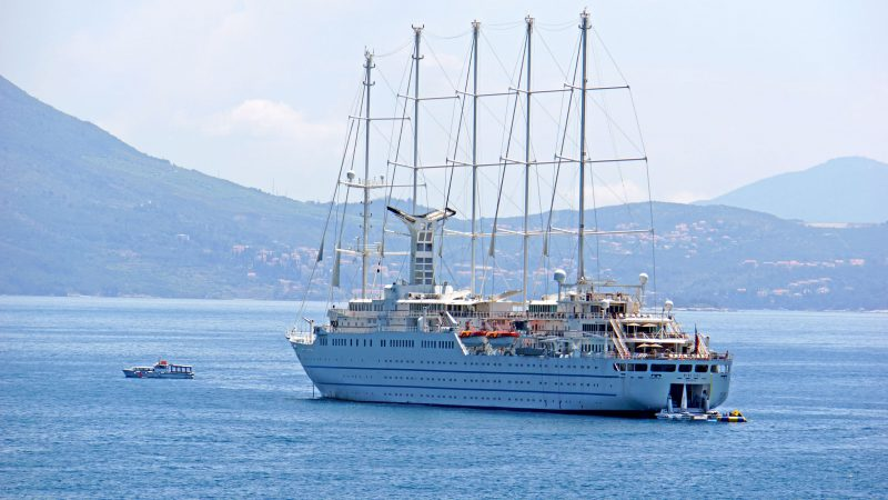 Cruise Ship Wind Surf
