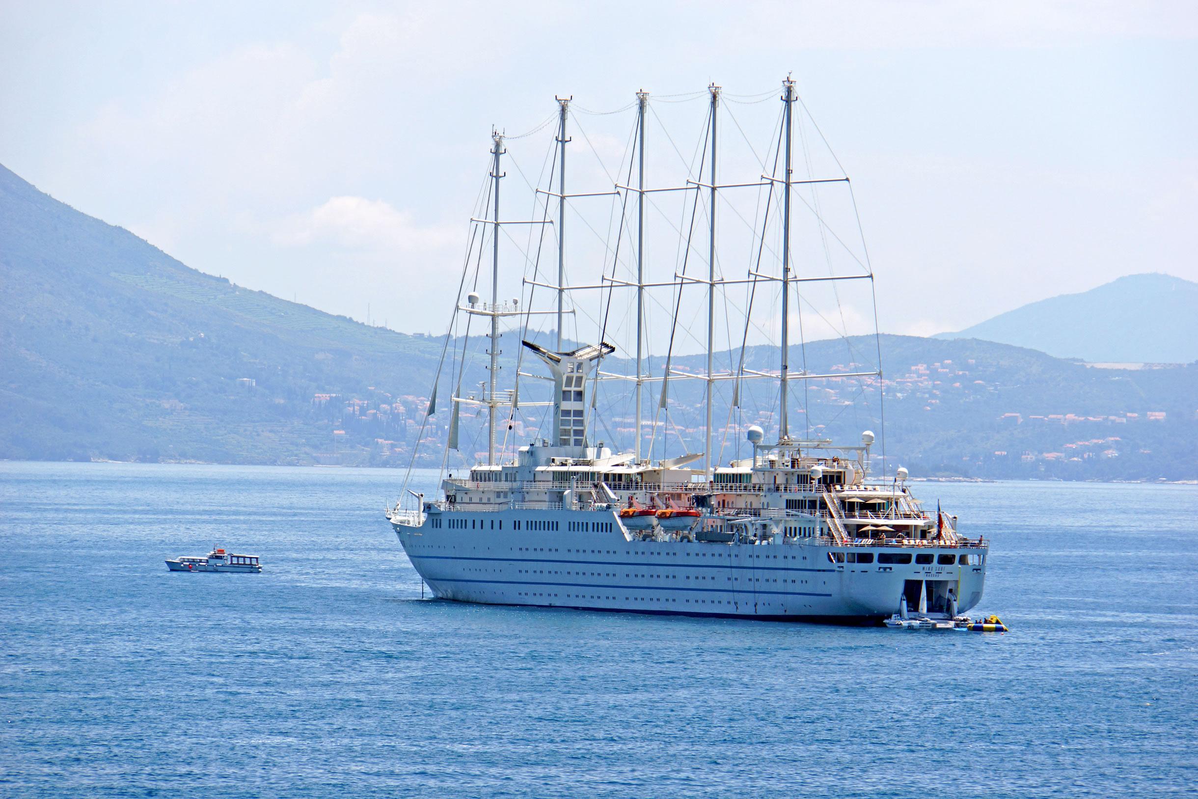 Cruise Ship Wind Surf