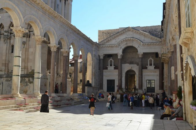 Diocletian Palace Peristyle
