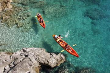 Dubrovnik sea kayaking and snorkeling