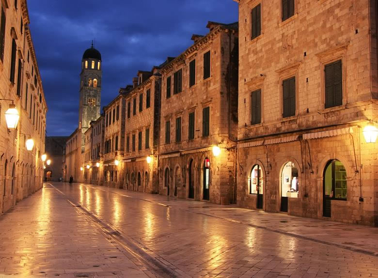 Dubrovnik street walking tour
