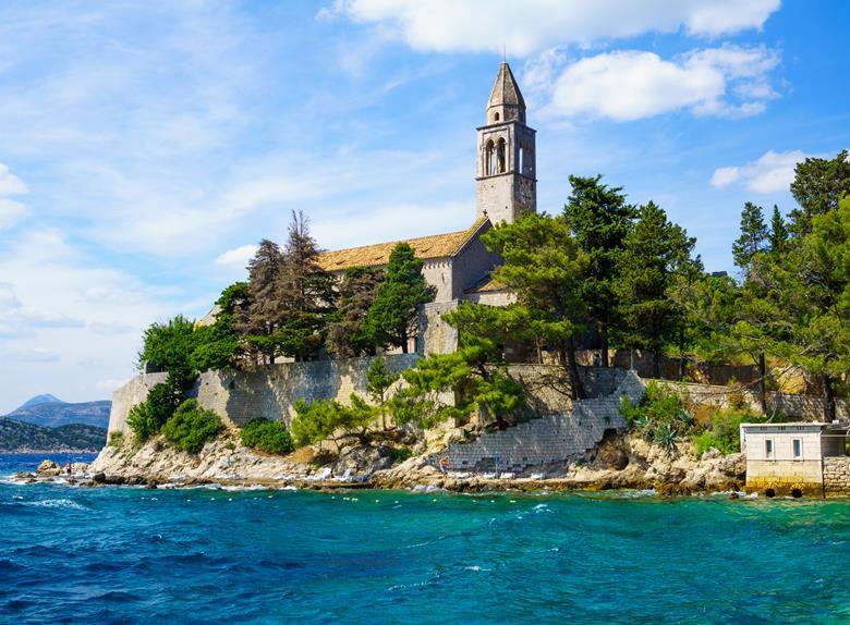 Elaphiti Islands Monastery