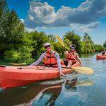 Kayaking on Cetina river