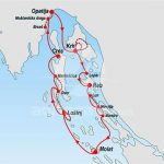 Nudist cruise from Opatija - North Dalmatia route