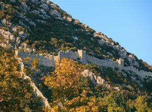 Ston town walls