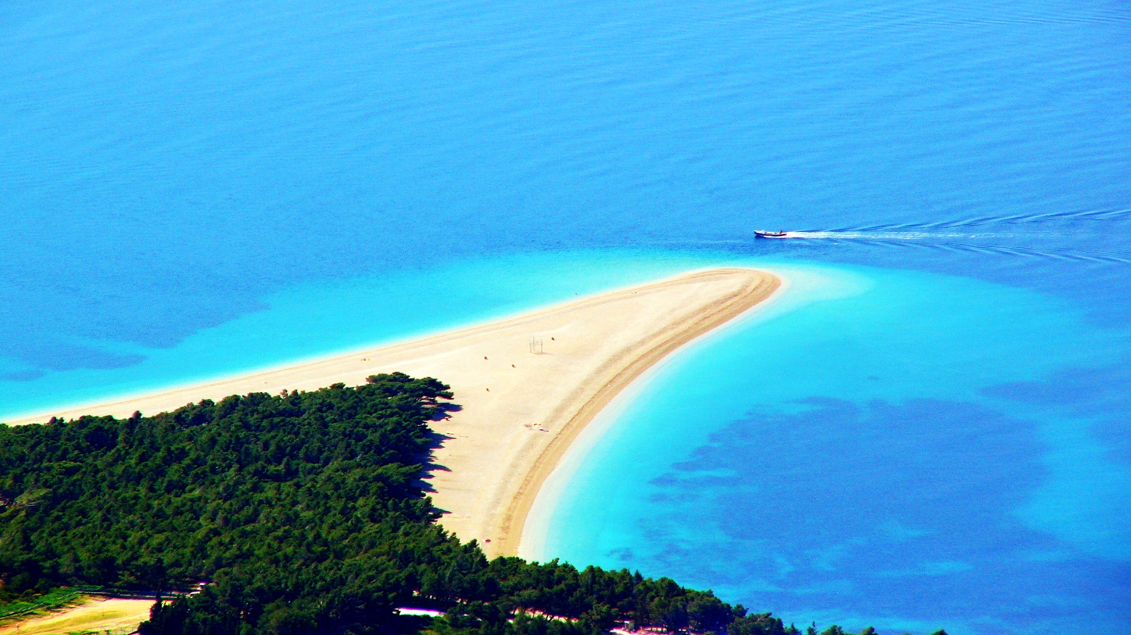 Image result for Arrow-shaped Zlatni Rat Beach –Brac, Croatia