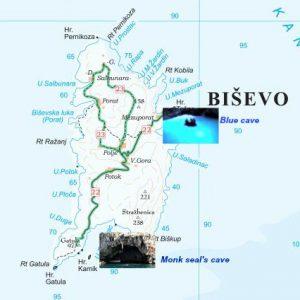 Bisevo island caves