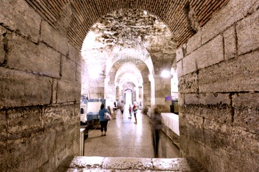Diocletian palace basement