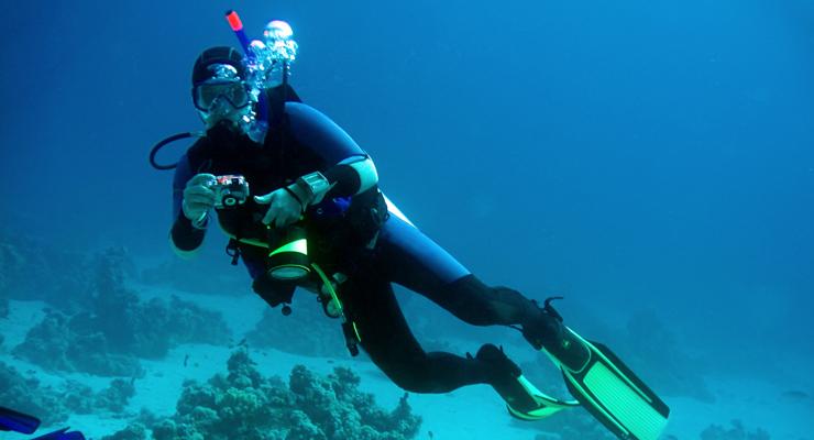Diving on Hvar