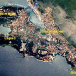Dubrovnik distrists map