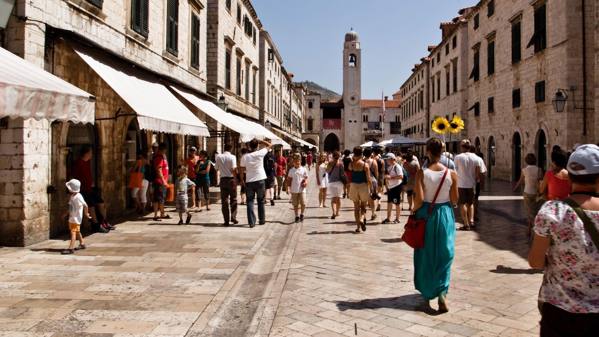Dubrovnik Stradun Street City Lifeline Split Croatia Travel Guide