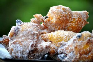 Fritule, festive pastry