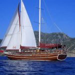 Luxury Gullet ship