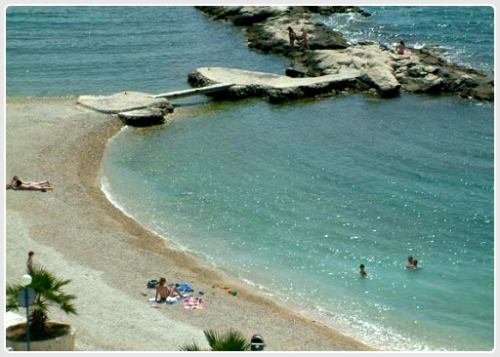 Jezinac beach