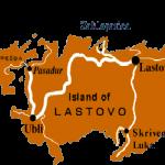 Lastovo island map