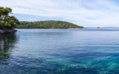 Lastovo island bays