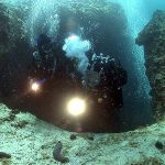 Lucice cave diving