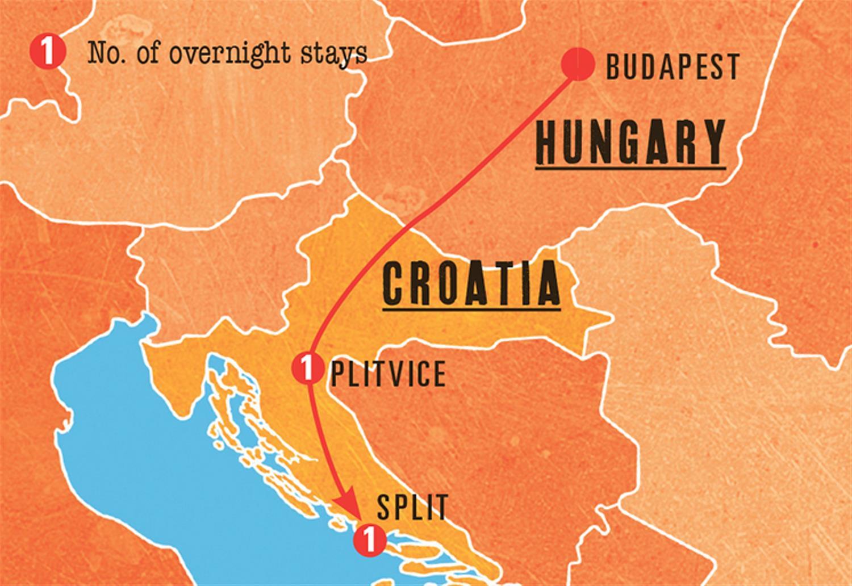 From Budapest to Dalmatian Coast Tour - Split Croatia Travel Guide on