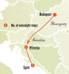 Mini Rhapsody Tour - Budapest to Split