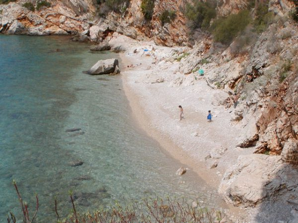 Orasac village nudist beach