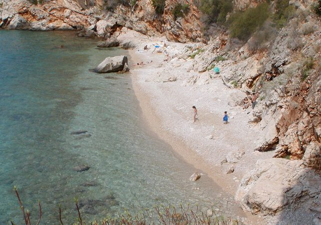Orasac village nudist beach