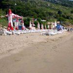 Sunj sandy beach