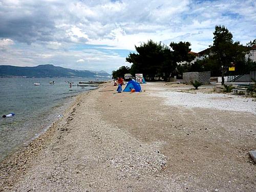 Arbanija beach