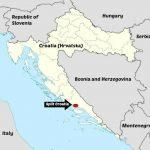 Split Town Location on Croatia Map