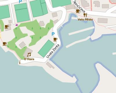 Zenta beach map