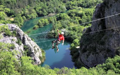 Omis Riven Canyon Zip Line