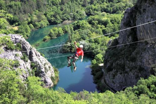Omis Riven Canyon Zip Line
