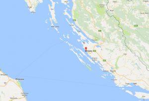Ancona to Zadar Ferry Route