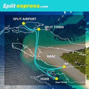 SplitExpress Route