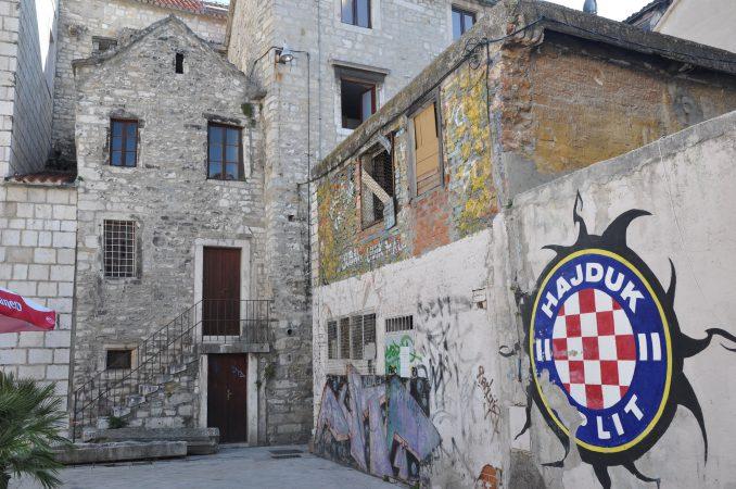 Hajduk Split graffiti