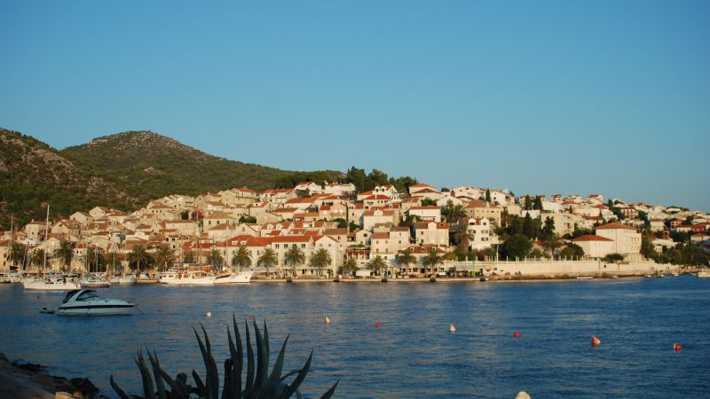 View of Hvar town
