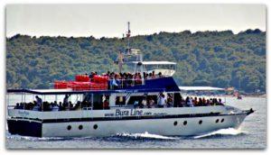 Bura Line boat