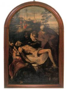 Mourning of the Christ by J. Tintoretto