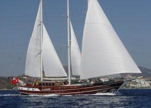 Deluxe Gullet ship