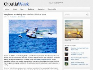 CroatiaWeek - European Coastal Airlines