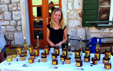 Hvar honey vendor