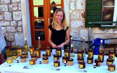 Hvar honey vendor