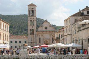 Hvar town piazza