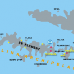 Pakleni islands naturist beaches map