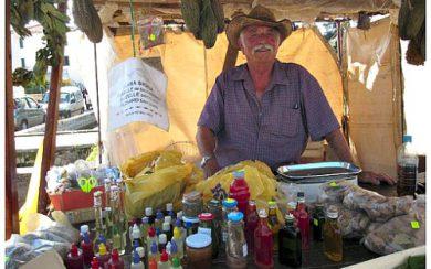 Stari Grad souvenirs vendor