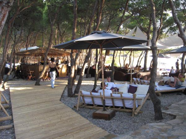 Carpe Diem bar on Stipanska beach, Hvar Croatia