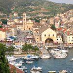 Hvar town port