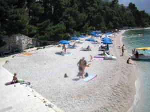 Berulia beach in Brela